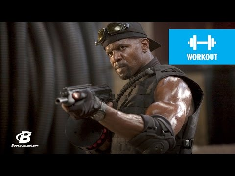 Terry Crews Workout for Expendables