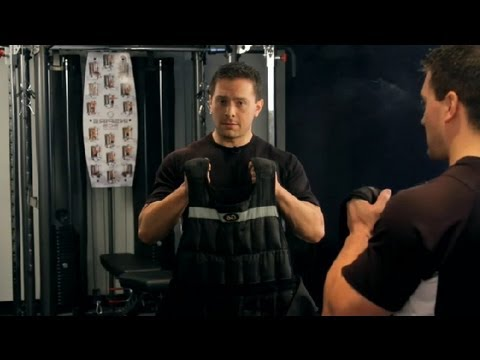 How to Wear a Weight Vest Under a Shirt : Weightlifting & Fitness
