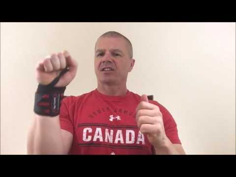 How to Put On a Pair of Weightlifting Wrist Wraps Better and Faster