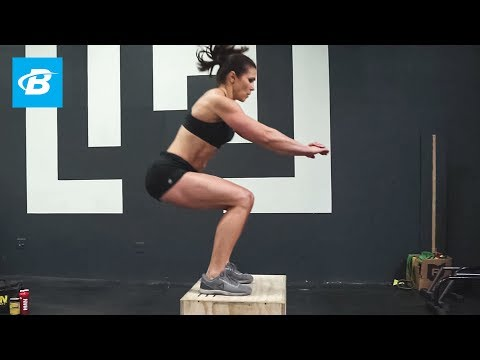 Full-Body Fat-Burning CrossFit Workout | Sara Pascale