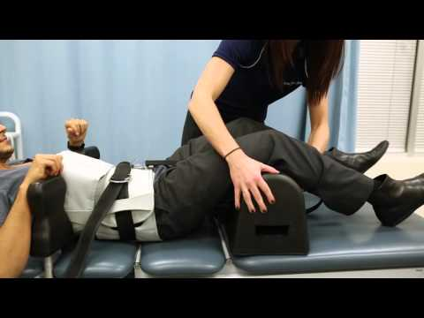 HealthMax Physiotherapy - Spinal Decompression Therapy Demonstration