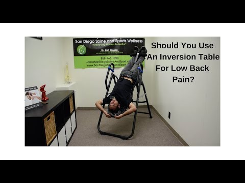 Ep 257 - Should You Use An Inversion Table for Low Back Pain?
