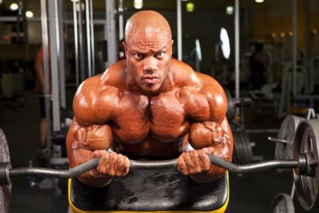 Phil Heath biceps