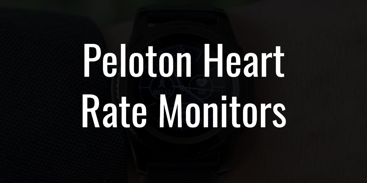 Peloton Heart Rate Monitors