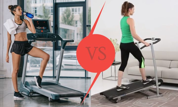 Manual vs Electric Treadmill