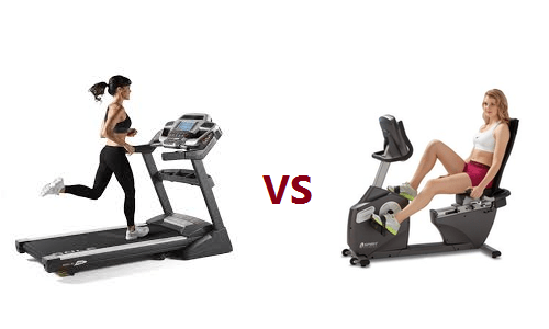 Stationary Bike vs. Treadmill